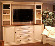 Country-Style Entertainment Center