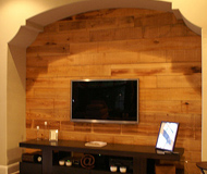 Accent TV Wall